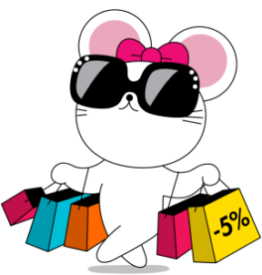 Mouse shopping with discount